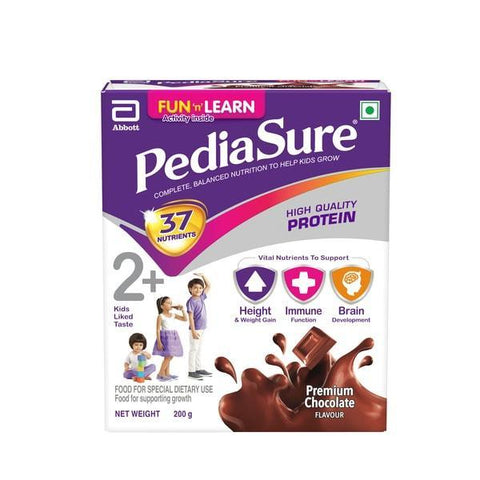 Pediasure Growth Kids Nutrition - Chocolate Health Drink 200 Gm (Refill Pack)