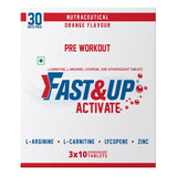 Fast&Up Activate - Orange Flavour - (3 x 10 Tablets)