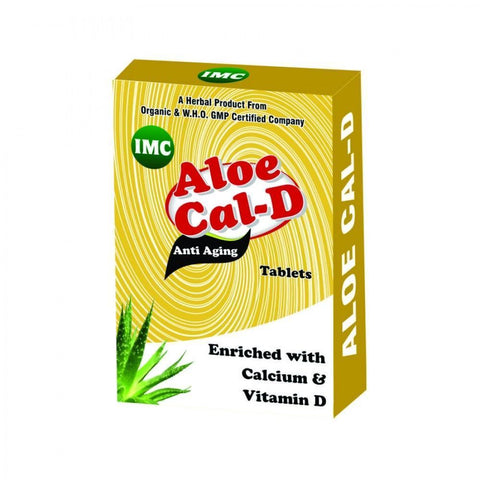 IMC Aloe Cal D Tablet For Healthy & Strong Bones
