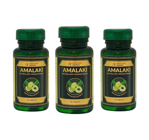 Medlife Essentials Amalaki 90 Tablet - 3's Pack