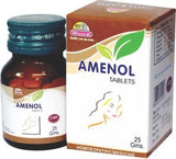 Wheezal Amenol 550 Mg Tablet For Amenorrhoea, Dysmenorrhoea, Chlorosis