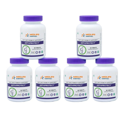 Medlife Essentials Arthprotect (Supplement for Arthritis & Joint Pain) - 6 Months Pack