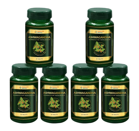 Medlife Essentials Ashwagandha 180 Tablet - 6's Pack