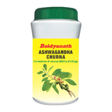Baidyanath Ashwagandha Churna Powder 100 Gm - Pack of 2