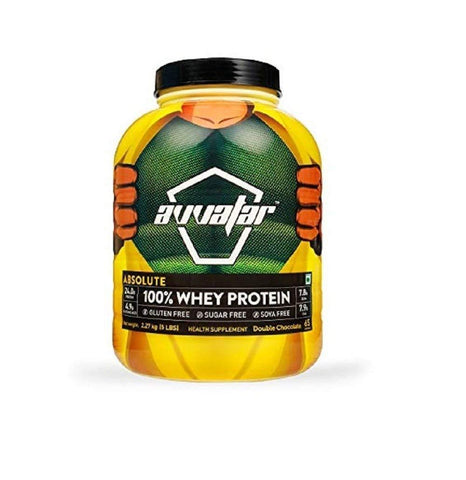 Avvatar 100 %Whey Protein Belgian Chocolate Powder 4.5 KG