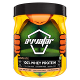 Avvatar 100 % Whey Protein Cafe Mocha Swirl Powder 500 GM