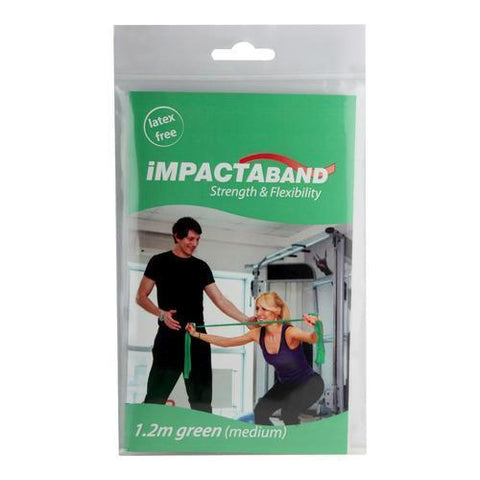 Beekay Impactaband (Resistance Band) For Physical Therapy - Green