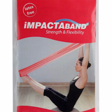 Beekay Impactaband (Resistance Band) For Physical Therapy - Red