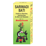 Baidyanath Sariwadi Bati 30 Tablets For Ear Infections - Pack of 2