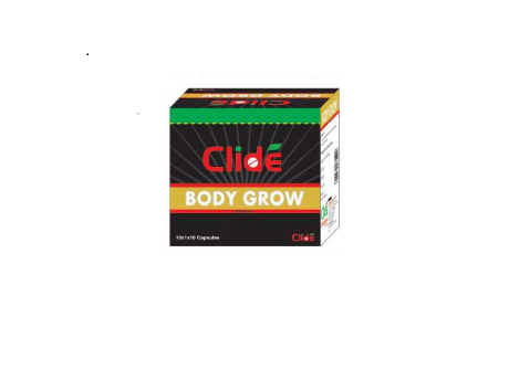 Clide Body Grow Capsule 10 Count - Pack of 2