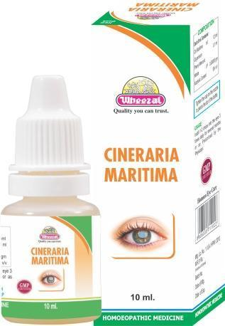 Wheezal Cineraria Maritima Eye Drops 10ML - Pack of 2