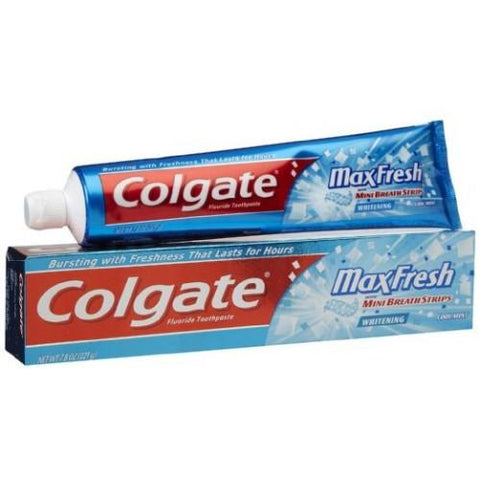 Colgate Toothpaste Maxfresh Peppermint Ice - 80 GM (Blue Gel)