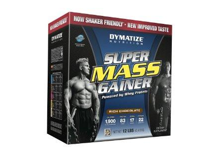 Dymatize Super Mass Gainer Rich Chocolate Powder 12 Lbs