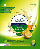 Diabliss Herbal Diabetic-Friendly Lemon Tea 500G - Low Glycemic Food - Pack Of 2 - Combo Pack