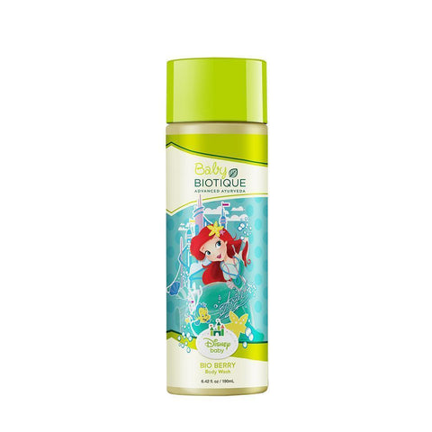 Biotique Disney Baby Bio Berry Baby Princess Body Wash - 190 ML (Pack Of 2)
