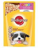 Pedigree Puppy Chicken Chunks Flavour In Gravy 80 Gm