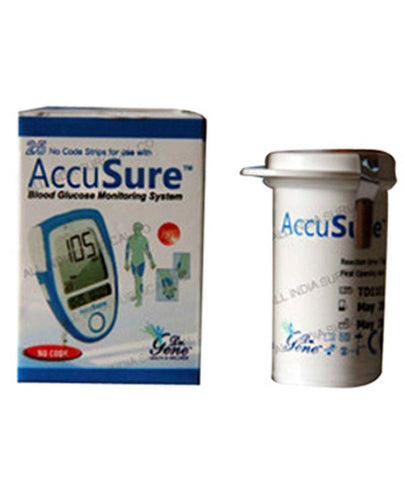 Dr. Gene Accusure Blood Glucose 25S Strips