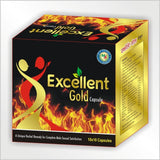 M.A Herbal Excellent Gold Capsule - For Strength, Stamina & Power
