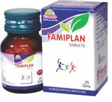 Wheezal Famiplan 25 Tablet- Pack of 2