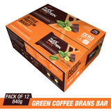 Ritebite Max Protein Active Green Coffee Beans Bars (70 Gm X 12)