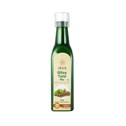 Jiva Giloy Tulsi Plus Juice 500 ML - Immunity Booster
