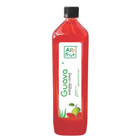 Axiom Alo Frut Guava Aloevera Juice 1000Ml - Immunity Booster, Cancer, Digestion, Diabetics & Heart Diseases