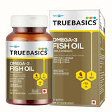 TrueBasics Omega-3 Fish Oil 60 Capsules