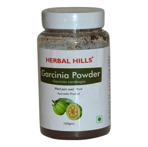 Herbal Hills Garcinia Powder 100 GM - For Weight Loss, immunity - Pack of 2
