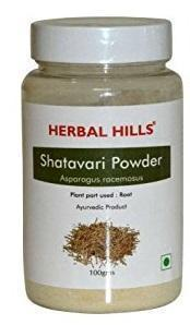 Herbal Hills Shatavari Powder 100 GM - Pack of 2