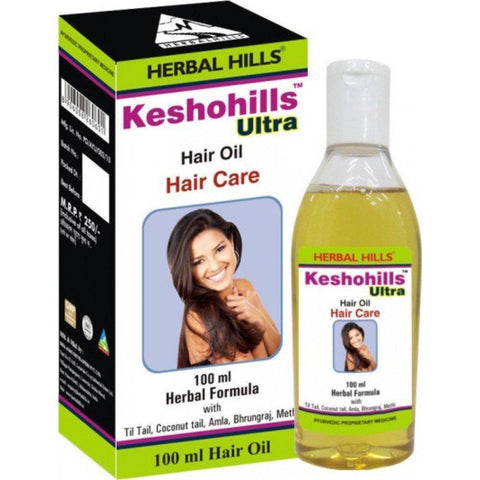 Herbalhills Keshohills Ultra Oil - Long, Strong & Healthy Hair