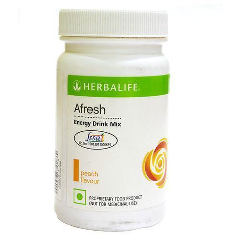 Herbalife Afresh Energy Drink Mix -Peach 50 Gm