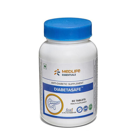 Medlife Essentials Diabetasafe 60 Tablets