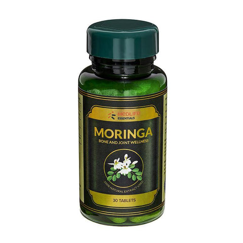 Medlife Essentials Moringa 120 Tablets - 4's Pack - Bone & Joint Wellness