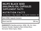 Inlife Black Seed Oil 500 MG 60 Capsules