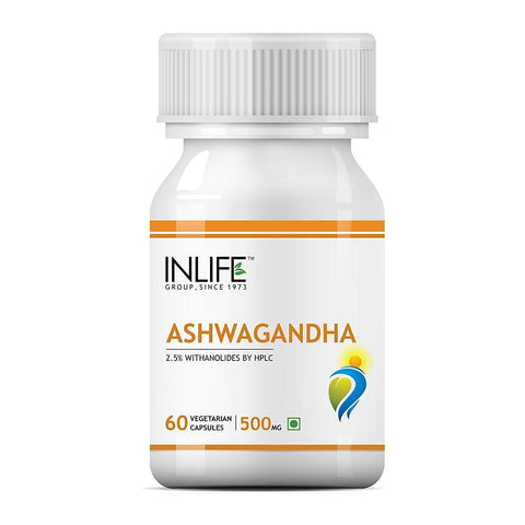 Inlife Ashwagandha - Improves Immunity & Strengthens Nervous System
