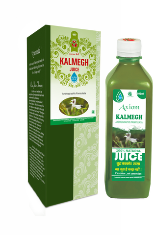 Axiom Kaal Megh Juice 500 ML For Fever, Liver disorder, Digestive System