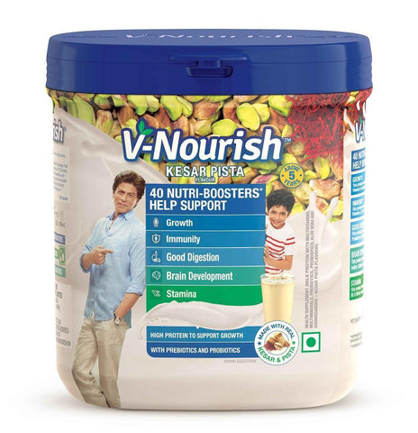 V-Nourish Kesar Pista Flavour (Above 5 Years ) 200 Gms