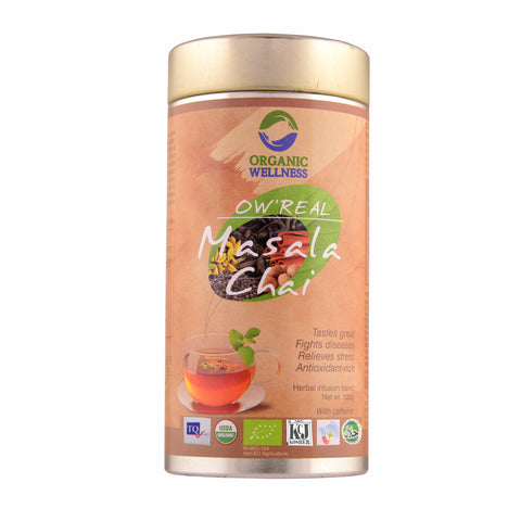 Organic Wellness Ow ' Real Masala Tea 100 GM