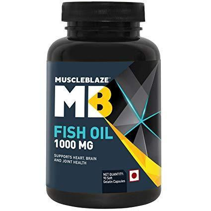 Muscleblaze Fish Oil 1000 MG - 90 Softgel