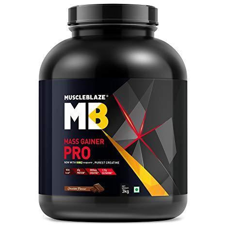 Muscleblaze Mass Gainer Pro - 3 Kg (Chocolate)