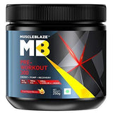Muscleblaze Pre Workout 300 (Fruit Punch) 250 GM