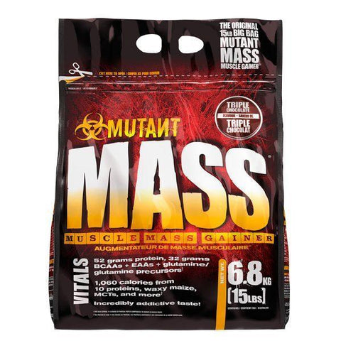 Mutant Mass Gainer Triple Chocolate - 6.8 Kg (15 lbs)