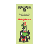 Baidyanath Nagarjunabhra Ras For Heart Diseases & Stomach Problems 40Tabs - Pack of 2