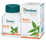 Himalaya Wellness Pure Herbs Neem 60 Tablets (Pack Of 2)