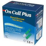 On Call Plus Glucose Test Strips 50'S