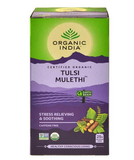 Organic India Tulsi Mulethi (Tea Bag 25)- Pack of 2