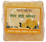 Patanjali Lemon Body Cleanser Soap 125 GM (Pack Of 4)