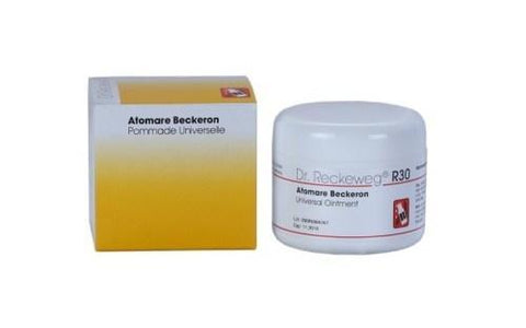 Dr. Reckeweg R30 Atomare Beckeron Universal Ointment 85Gm For Joint Pain, Back Pain & Arthritis
