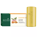 Biotique Almond Oil Nourishing Body Soap - 150 GM (Pack Of 3)