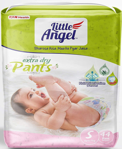 Little Angel Baby Pull Ups - Small (44 Pieces)